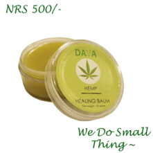 Dava Hemp Healing Balm ( Tree Tea And Orange Blossom Aroma)