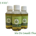 DAVA Hemp Massage Oil (Peppermint Aroma)- 100Ml